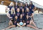 Cypress Centurions Girls Varsity Volleyball Fall 18-19 team photo.