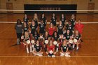 Maumelle Hornets Girls Varsity Volleyball Fall 18-19 team photo.