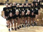 Amarillo Sandies Girls Varsity Volleyball Fall 18-19 team photo.