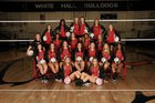 White Hall Bulldogs Girls Varsity Volleyball Fall 18-19 team photo.