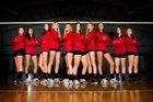 Faith Christian Patriots Girls Varsity Volleyball Fall 18-19 team photo.