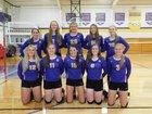 Orangeville Broncos Girls Varsity Volleyball Fall 18-19 team photo.