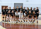 Brashier Middle College Charter Bengal Girls Varsity Volleyball Fall 18-19 team photo.
