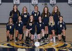 Tacoma Baptist Crusaders Girls Varsity Volleyball Fall 18-19 team photo.