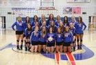 Paragould Rams Girls Varsity Volleyball Fall 18-19 team photo.