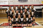 East Central Trojans Girls Varsity Volleyball Fall 18-19 team photo.
