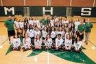 Maloney Spartans Girls Varsity Volleyball Fall 18-19 team photo.