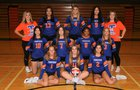 Thunderbird Chiefs Girls Varsity Volleyball Fall 18-19 team photo.