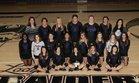 Riverview Raiders Girls Varsity Volleyball Fall 18-19 team photo.