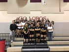 Escalante Lobos Girls Varsity Volleyball Fall 18-19 team photo.