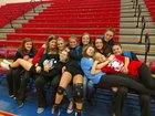 Licking Valley Panthers Girls Varsity Volleyball Fall 18-19 team photo.