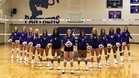 Paschal Panthers Girls Varsity Volleyball Fall 18-19 team photo.
