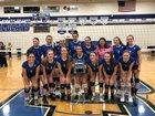 Alden Bulldogs Girls Varsity Volleyball Fall 18-19 team photo.