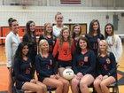Starmount Rams Girls Varsity Volleyball Fall 18-19 team photo.