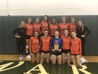Palm Beach Gardens Gators Girls Varsity Volleyball Fall 18-19 team photo.