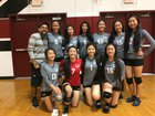 Yerba Buena Aztec Warriors Girls Varsity Volleyball Fall 18-19 team photo.