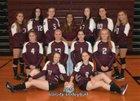 Northeastern Clinton Cougars Girls Varsity Volleyball Fall 18-19 team photo.