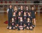 Augusta Christian Lions Girls Varsity Volleyball Fall 18-19 team photo.