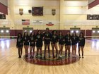 Adelanto Saints Girls Varsity Volleyball Fall 18-19 team photo.