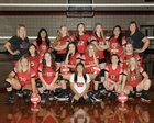 Clarksville Panthers Girls Varsity Volleyball Fall 18-19 team photo.