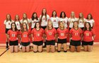 Lawrenceville Indians Girls Varsity Volleyball Fall 18-19 team photo.