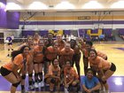 Poston Butte Broncos Girls Varsity Volleyball Fall 18-19 team photo.