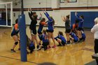 Vernon Yellowjackets Girls Varsity Volleyball Fall 18-19 team photo.