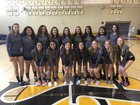 San Pedro Pirates Girls Varsity Volleyball Fall 18-19 team photo.