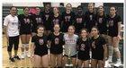 Nyack Indians Girls Varsity Volleyball Fall 18-19 team photo.
