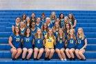 Greenville Trojans Girls Varsity Volleyball Fall 18-19 team photo.