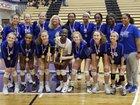 Chamblee Bulldogs Girls Varsity Volleyball Fall 18-19 team photo.