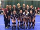 Rolla Bulldogs Girls Varsity Volleyball Fall 18-19 team photo.