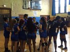 Wells Raiders Girls Varsity Volleyball Fall 18-19 team photo.