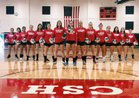 Cold Spring Harbor Seahawks Girls Varsity Volleyball Fall 18-19 team photo.