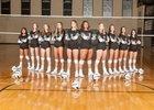 Volcano Vista Hawks Girls Varsity Volleyball Fall 18-19 team photo.