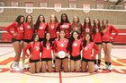 St. Francis Troubadours Girls Varsity Volleyball Fall 18-19 team photo.