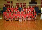 Conestoga Valley Buckskins Girls Varsity Volleyball Fall 18-19 team photo.