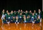 Northwestern Area Wildcats Girls Varsity Volleyball Fall 18-19 team photo.