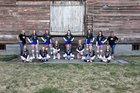 Oakesdale Nighthawks Girls Varsity Volleyball Fall 18-19 team photo.