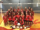 Barrington Broncos/Fillies Girls Varsity Volleyball Fall 18-19 team photo.