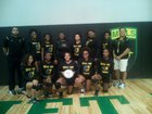 Mills University Studies Comets Girls Varsity Volleyball Fall 18-19 team photo.
