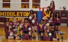 Middleton Tigers Girls Varsity Volleyball Fall 18-19 team photo.