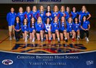 Christian Brothers Falcons Girls Varsity Volleyball Fall 18-19 team photo.