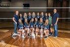 Pine Creek Eagles Girls Varsity Volleyball Fall 18-19 team photo.