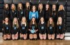 Floyd Central Jaguars Girls Varsity Volleyball Fall 18-19 team photo.