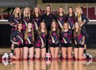 Ponderosa Mustangs Girls Varsity Volleyball Fall 18-19 team photo.