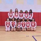 Lisa Academy Jaguars Girls Varsity Volleyball Fall 18-19 team photo.