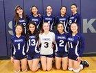 Puget Sound Adventist Sharks Girls Varsity Volleyball Fall 18-19 team photo.