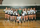 Bear Creek Grizzlies Girls Varsity Volleyball Fall 18-19 team photo.