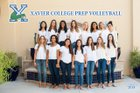 Xavier College Prep Gators Girls Varsity Volleyball Fall 18-19 team photo.